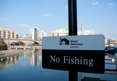 Brittiska waterways london royaltyfri foto