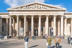 brittiskt london museum Royaltyfria Bilder