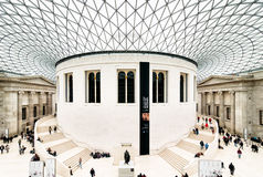 brittiskt london museum Arkivbild
