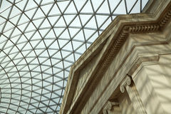 brittiskt museum Arkivbilder