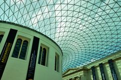 brittiskt museum Arkivfoton