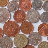 Brittiskt pund Royaltyfri Bild