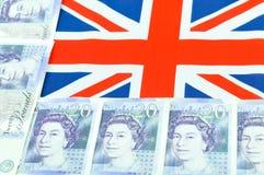 brittiskt pund Fotografering för Bildbyråer