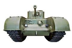 Brittiskt tungt infanteri tankar Churchill isolerade Royaltyfria Bilder