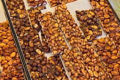 Brittle nut Stock Photos