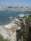 Britton coast from the cliffs Stock Photography