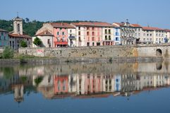 Brives Charensac, France Royalty Free Stock Image