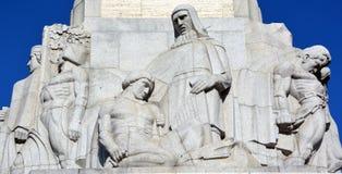 Brivibas piemineklis浅浮雕, 免版税库存图片