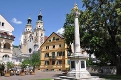 Brixen, Bressanone nel Tirolo del sud fotografia stock libera da diritti