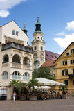 Brixen, Bressanone - Old town center, South Tyrol Royalty Free Stock Images