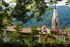 Brixen, el Tyrol del sur Imagenes de archivo