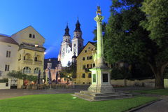Brixen at sunset Royalty Free Stock Image