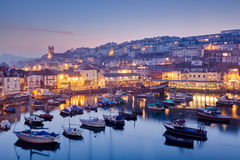 Brixham Devon royalty-vrije stock foto