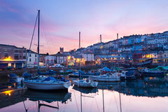 Brixham Devon stock foto