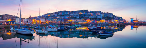 Brixham Devon Stockbilder