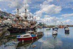 Brixham Hafen Lizenzfreie Stockfotografie