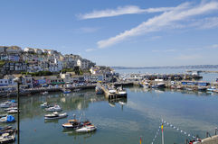 Brixham Harbour Stock Image