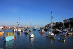 Brixham harbour Stock Photo