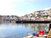 Brixham harbour, Devon. Stock Photo