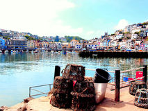 Brixham Harbour, South Devon. Royalty Free Stock Image