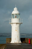 Brixham Lighthouse. Protecting the shore Stock Photo