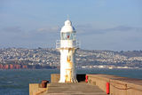 Brixham lighthouse Royalty Free Stock Photos