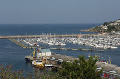 Brixham Marina Royalty Free Stock Photography