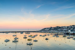 Brixham Marina in South Devon Royalty Free Stock Photography