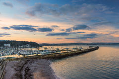 Brixham Marina in South Devon Royalty Free Stock Images