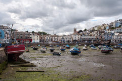 Brixham Town and Harbour Royalty Free Stock Image
