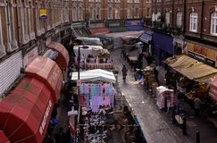 Brixton market, London Stock Photo