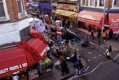 Brixton market, London Royalty Free Stock Photo