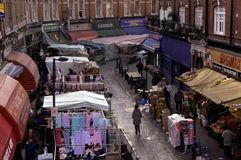 Brixton market, London Stock Photography
