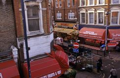 Brixton Markt, London Lizenzfreie Stockfotos