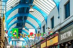 Brixton Village and Brixton Market Royalty Free Stock Photo
