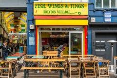 Brixton Village and Brixton Market Royalty Free Stock Photography