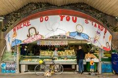 Brixton Village e Brixton Market Immagini Stock Libere da Diritti