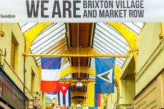 Brixton Village e Brixton Market Immagine Stock Libera da Diritti
