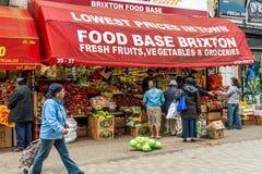 Brixton Village e Brixton Market Fotografia Stock