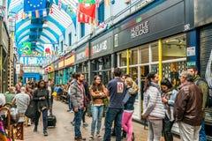Brixton Village e Brixton Market Immagine Stock
