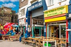 Brixton Village y Brixton Market Foto de archivo libre de regalías
