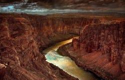Början av Grandet Canyon Royaltyfri Fotografi