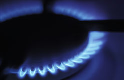 Brûleur à gaz Photos stock