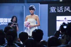 bröllop 2011 för porslinexpoguangzhou fjäder Arkivbild