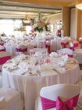 bröllop för deltagaremottagandevenue Fotografering för Bildbyråer
