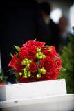 bröllop för ordningsbukettblomma Arkivbilder