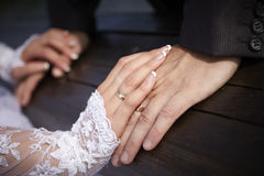 Bröllop förbindelse Arkivfoton