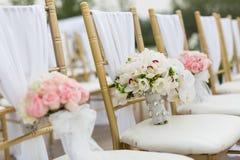 Bröllopbuketter Arkivbild