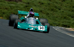 BRM Formula One racing car at speed Royalty Free Stock Photo