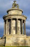 Brännskadamonument i Edinburg Arkivfoto